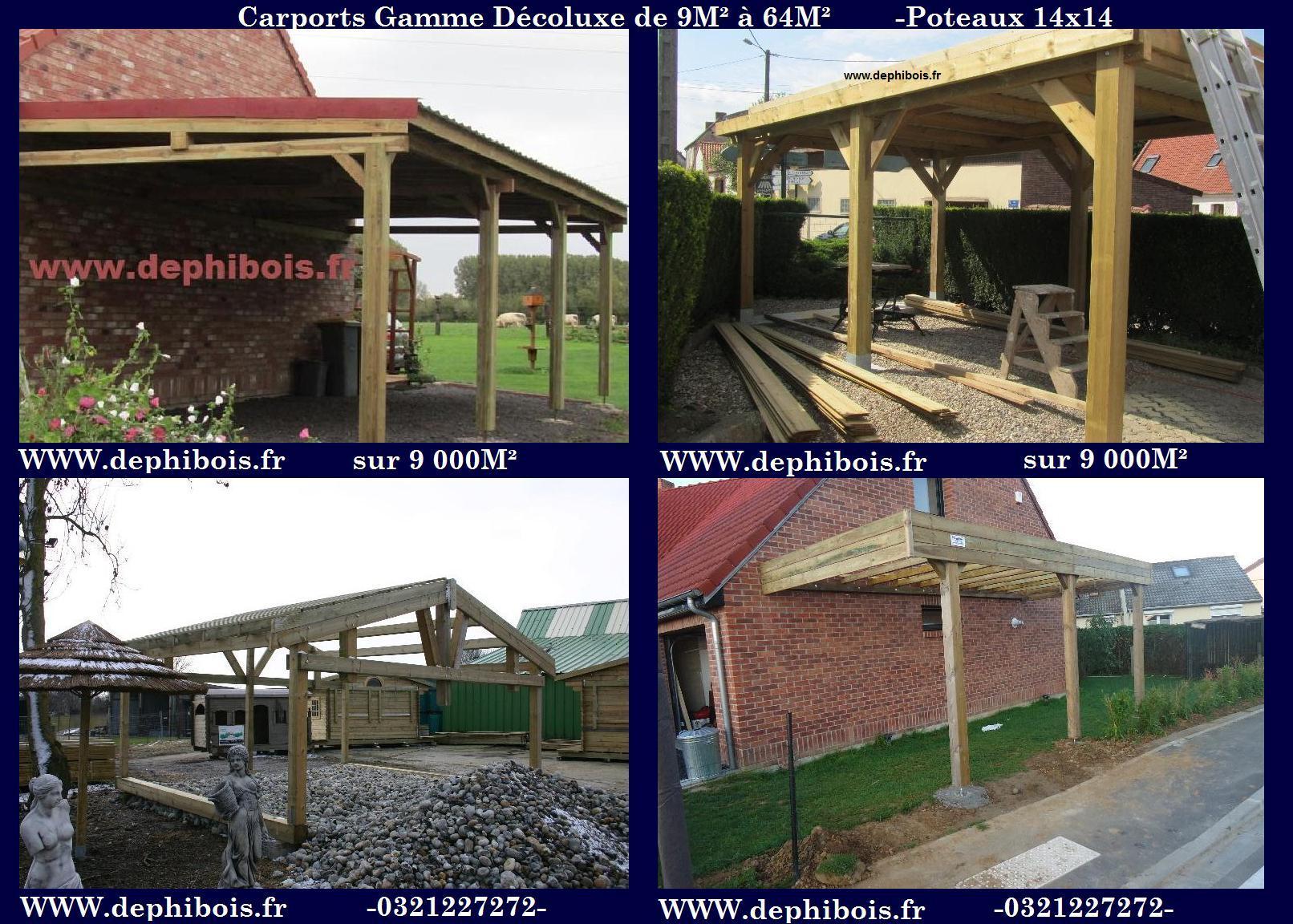 Garage simple ou double en kit de 15 m 160m for Abri de jardin martinique