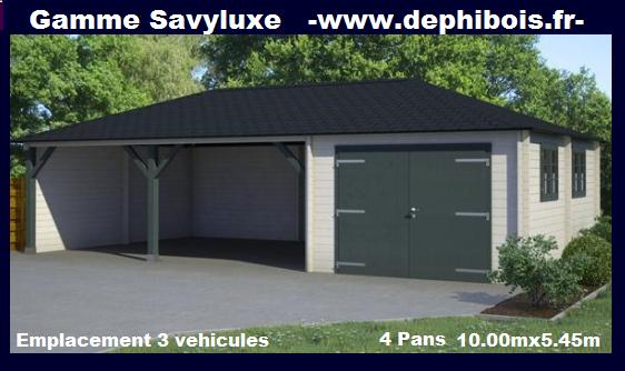 Garage 2 voiture en kit